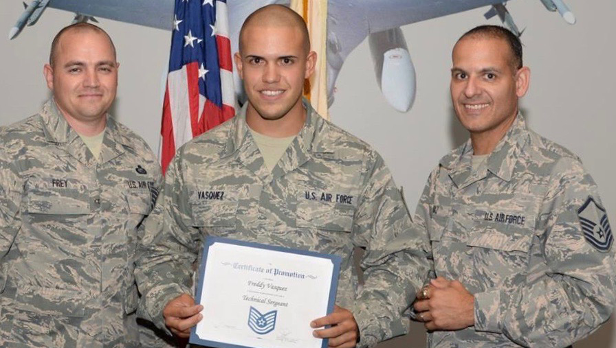 177th Fighter Wing recruiter is top in the Nation