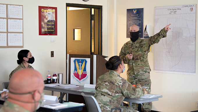 McGuire Air Force Base Instructor Teaches 177th AMXS
