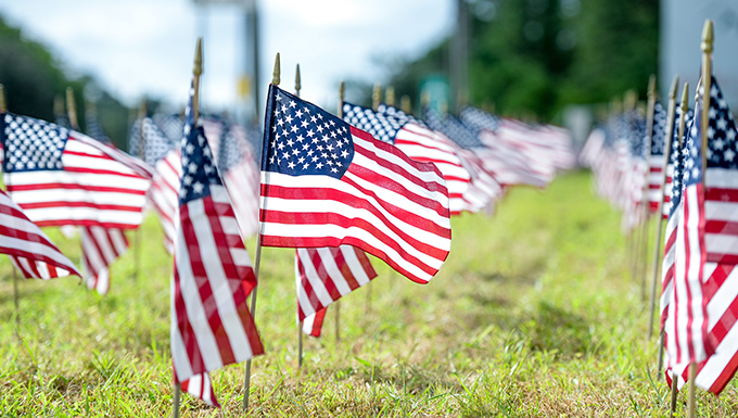 Flags for Forgotten