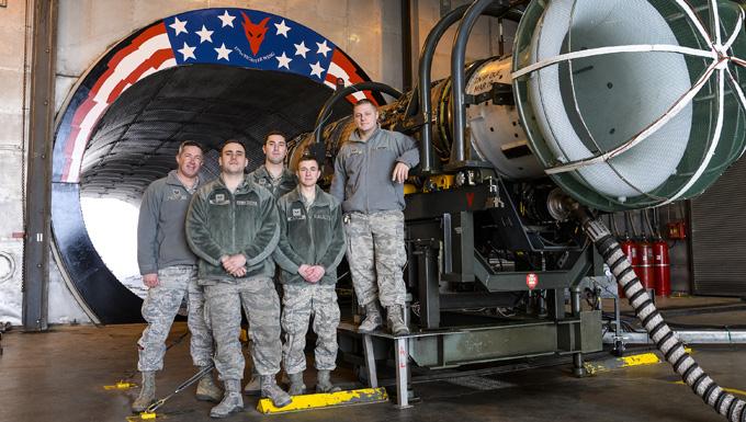 Air National Guard unit's propulsion element creates powerful Esprit de Corps