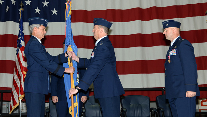 Col. Bradford R. Everman takes over as 177th Fighter Wing Commander