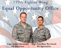 177th Fighter Wing Equal Opportunity Poster